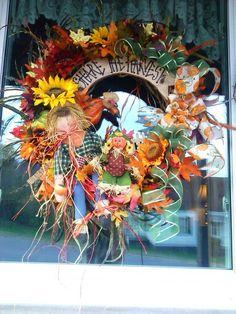 Full & Festive Fall Wreath