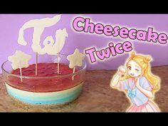 RECETA KPOP: Cheesecake arcoiris  TWICE | Pinku & Blaqui - YouTube