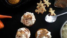 Mrkvové cupcakes se sýrovým krémem