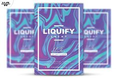 LIQUIFY Flyer Template by tes on @creativemarket