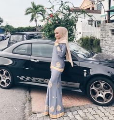Kebaya Hijab, Kebaya Dress, Casual Hijab Outfit, Hijab Chic, Dress Brokat Muslim, Pashmina Hijab Tutorial, Model Kebaya, Hijab Fashion, Women's Fashion