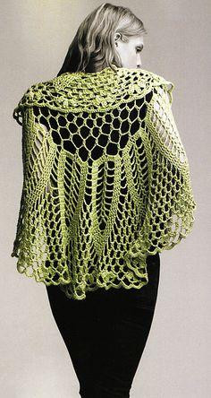 circle crochet shawl