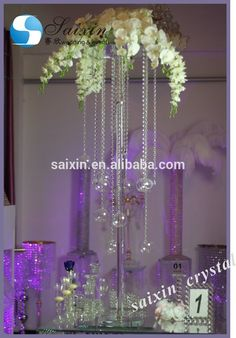 Wholesale high chandelier flower stand centerpieces for wedding unique wedding table centerpiece tall crystal flower stands zt 203t view flower stands for junglespirit Choice Image