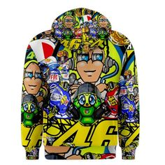 Valentino Rossi VR46 The Doctor Fans Best Qualit Custom Hoodie Sweater