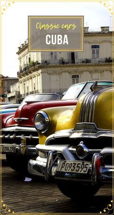One can't really skip taking a ride in a #ClassicCar in #Cuba when #traveling to the island. And here is why. #Travel #TravelCuba #TravelCentralAmerica #CubaThingsToDo #CubaCars Travel Advise, Travel Articles, Travel Info, Time Travel, Travel Guides, Travel Tips, Travel Destinations, Cuba Travel, Travel Usa