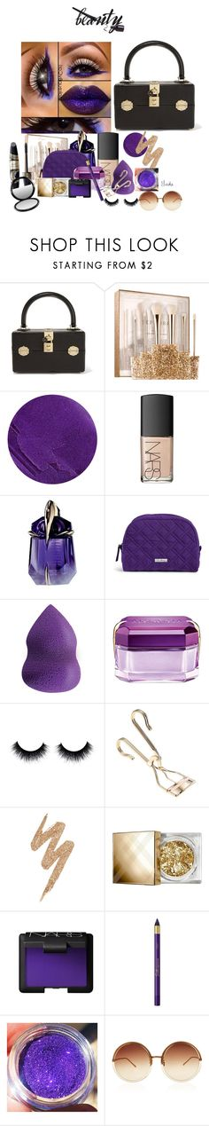 """""""Put it in the Bag!"""" by warleda ❤ liked on Polyvore featuring Dolce&Gabbana, Sephora Collection, Lipstick Queen, NARS Cosmetics, Thierry Mugler, Vera Bradley, Lord & Berry, Urban Decay, Burberry and L'Oréal Paris"""