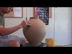 71. Throwing / Making a Section Pot / Vase with Hsin-Chuen Lin