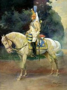 Tromba dei dragoni della guardia imperiale francese - Keith Rocco