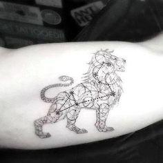 Best Leo Lion Tattoo Idea