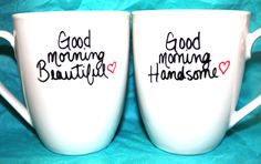 For her & him coffee cups!! So cute!