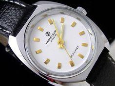 Zenith 2 70'sスイスファーブル ルーバSEA CHIEF手巻アンティーク 時計 Watch Antique ¥8259yen 〆05月16日