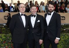 British invasion: Downton Abbey's (L-R) Kevin Doyle, Allen Leech and Tom Cullen were no do...
