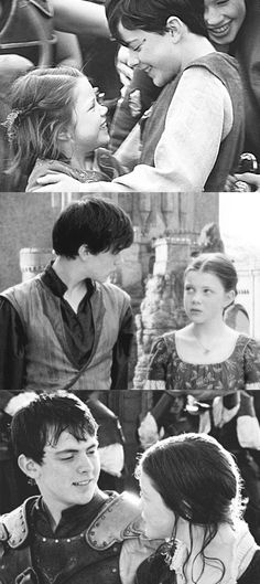 Edmund & Lucy Pevensie. I'm almost the only person I know who likes the Narnia books.