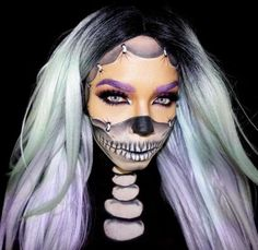 Another #skeleton makeup for #halloween