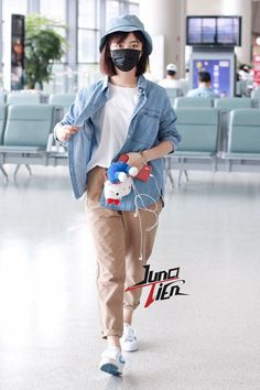 Yun Yun, Airport Style, Airport Fashion, Chinese Actress, Luhan, My Outfit, My Idol, Korea, Sporty