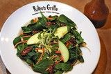 Chef Steve Puleo shares the recipe for strawberry spinach salad with strawberry ginger dressing served at Puleo's Grille.