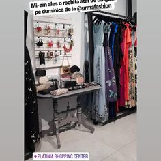 Multumim @danarosu! ❤❤ Va așteptăm și pe voi în magazinul nostru din Platinia Shopping Center Cluj  #urmafashion #urma #urmaboutique… Wardrobe Rack, Spring Summer, Furniture, Shopping, Instagram, Home Decor, Decoration Home, Room Decor, Home Furnishings