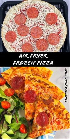 Can you air fry frozen pizza? Absolutely! Today I'm going to show you how you can cook a whole frozen pizza in an air fryer. Frozen Pizza, Pizza Recipe Video, Slow Food, Yule, We The People, Food Videos, Real Food Recipes, Nutrition, Diet