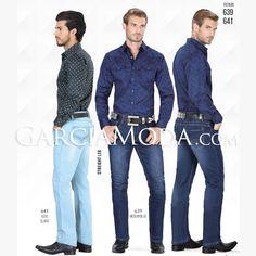 e471e799f1 Pantalón Vaquero Lamasini Jeans 641 y 639 Azul Claro y Medium Blue