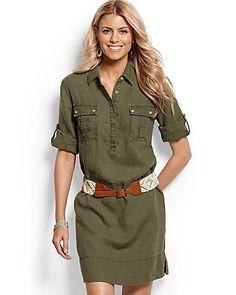 1000 Images About Safari Dress Shirt Dress On Pinterest