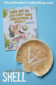 There Was an Old Lady Who Swallowed a Shell reading response craft