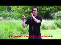 La pêche à la mouche : techniques de lancer par Europêche34 - YouTube