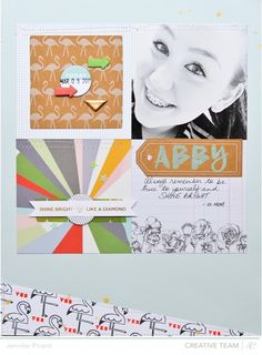 Blog: Sunday Sketch | Jenn Picard - Scrapbooking Kits, Paper & Supplies, Ideas & More at StudioCalico.com!