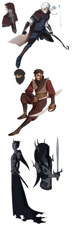 Lord of the Rings redesign for Rise of the Guardians by DustyLeaves on…