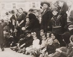 Immigrants passing through quarantine at Ellis Island, c. 1914 © Pacific & Atlantic Photos Ltd / Daily Herald From 1892 until its closur...
