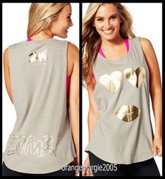 ZUMBA Only Have Eyes for ZW Tank-Zumba Insider Top Racerback SOLD-OUT!! XS S M L #ZumbaZumbaFitness #ShirtsTopsZ1T01285