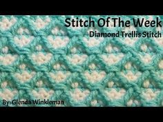 Special Request Stitch of the Week Brick By Brick Stitch 218 (Free Pattern at the end of the video) - YouTube