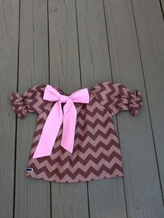 Girls Fall Thanksgiving peasant Dress & bow by EverythingSorella, $32.50
