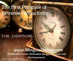 First Principle, Entrepreneurship, Productivity, Photo Credit, Everything, Ale, Insight, Success, Wings