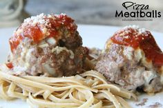 Dinner Tonight: Pizza Meatballs
