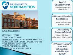 Spot Assessment by University of Northampton, UK on 22nd Nov 2016, Tue, @ Krishna Consultants, #Nagpur.