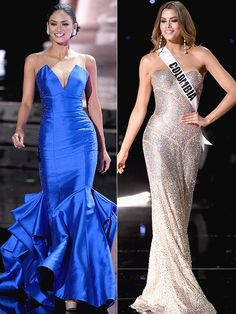 Currently shared 995 times per hour on PEOPLE.com Miss Colombia and Miss Philippines Style Showdown: Did Steve Harvey Have it Right the First Time?