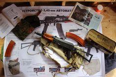 My NFA registered AKS74U from a Tula parts kit.