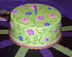 Surprising Birthday Cake Flowers