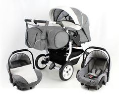 DUO-STARS-twin-Pram-pushchair-2-car-seats-certified-to-BS5852