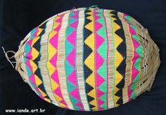 cesto de pesca kunhu - indios yawalapiti