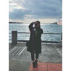 【k3930】さんのInstagramをピンしています。 《📸 #me #selfie #selfcamera #selca #selcam #japan #osaka #like4like #l4l #nature #sea #ocean #sky #scenery #camera #fashion #denim #大阪 #海 #空 #カコソラ #ファッション #自然 #カメラ #カメラ女子 #ファインダー越しの私の世界》