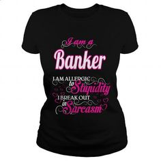 Banker - Sweet Heart - #mens shirt #hoodie outfit. ORDER HERE => https://www.sunfrog.com/Names/Banker--Sweet-Heart-Black-Ladies.html?60505