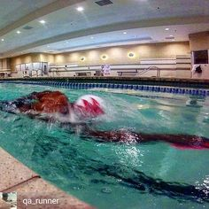 "from Ajani Snelling @qa_runner . . . . ""They call me Jaws My hat is like a sharks fin!"" LL Cool J  #canaw #newwaveswimbuoy #newnewwaveswimbuoy #airofin #airofin_athletic #airofin_athletic_ambassador #lvac #lvacflamingo #poolside #lifestyle #vegas #nevergiveup #tri365 #swimwear #swimming #swimmer #instaswim #triathlete #triathlon #triathlontraining #needforspeed #garmin #gopro #workout #fitness #bodybuilding"