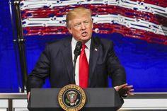"""<p>El presidente de EE.UU., Donald Trump, aseguró hoy que """"Venezuela es un desastre"""" y que está por ver """"qué ocurre"""" con el anuncio de Caracas de que se retirará de la Organización de Estados Americanos (OEA).</p>"""