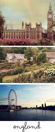 England! #BucketList #Countries #Travel