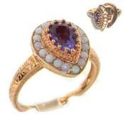 I love these rings with secret compartments.