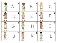 Kids and Cupcakes {A Letter Recognition Game} FREEBIE