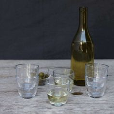 We barely need say that Duralex tumblers are made in France, so closely are they associated with cafe au lait, beret-wearing schoolchildren, baguettes, and vin de table.
