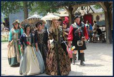 Queen Margaret of Scotland & the Isles and Royal Scottish Court, Scarborough Renaissance Festival, Waxahachie