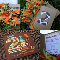 Adorable zoo themed party from Life in the Dub Lane